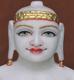 """Picture of 11SW60 Super White Simandhar Swami 11"""" Murti 11SW60"""