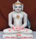 "Picture of 11SW63 Super White Simandhar Swami 11"" Murti 11SW63"