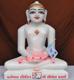 """Picture of 13SW46 Super White Simandhar Swami 13"""" Murti 13SW46"""