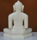 "Picture of 11NW38 Normal White Simandhar Swami 11"" Murti 11NW38"