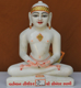 "Picture of 11NW39 Normal White Simandhar Swami 11"" Murti 11NW39"