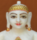 """Picture of 11NW43 Normal White Simandhar Swami 11"""" Murti 11NW43"""