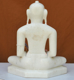 """Picture of 11NW44 Normal White Simandhar Swami 11"""" Murti 11NW44"""