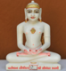 """Picture of 11NW50 Normal White Simandhar Swami 11"""" Murti 11NW50"""