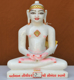 """Picture of 11NW51 Normal White Simandhar Swami 11"""" Murti 11NW51"""