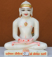 "Picture of 11NW55 Normal White Simandhar Swami 11"" Murti 11NW55"