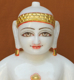 "Picture of 11NW57 Normal White Simandhar Swami 11"" Murti 11NW57"
