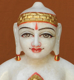 "Picture of 11NW58 Normal White Simandhar Swami 11"" Murti 11NW58"