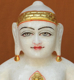 """Picture of 11NW59 Normal White Simandhar Swami 11"""" Murti 11NW59"""