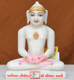 "Picture of 9NW26 Normal White Simandhar Swami 9"" Murti 9N26"