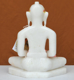 """Picture of 9NW27 Normal White Simandhar Swami 9"""" Murti 9N27"""