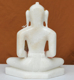 "Picture of 9NW29 Normal White Simandhar Swami 9"" Murti 9N29"