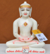 "Picture of 9NW31 Normal White Simandhar Swami 9"" Murti 9N31"