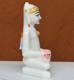 """Picture of 9NW33 Normal White Simandhar Swami 9"""" Murti 9N33"""