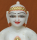 "Picture of 9NW35 Normal White Simandhar Swami 9"" Murti 9N35"