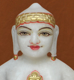 "Picture of 9NW36 Normal White Simandhar Swami 9"" Murti 9N36"