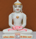 "Picture of 9NW37 Normal White Simandhar Swami 9"" Murti 9N37"