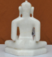 "Picture of 9NW38 Normal White Simandhar Swami 9"" Murti 9N38"