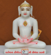 "Picture of 9NW40 Normal White Simandhar Swami 9"" Murti 9N40"