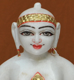 "Picture of 9NW42 Normal White Simandhar Swami 9"" Murti 9N42"