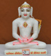 "Picture of 9NW43 Normal White Simandhar Swami 9"" Murti 9N43"