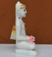 """Picture of 9NW44 Normal White Simandhar Swami 9"""" Murti 9N44"""