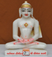 "Picture of 9NW47 Normal White Simandhar Swami 9"" Murti 9N47"
