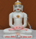 "Picture of 9NW49 Normal White Simandhar Swami 9"" Murti 9N49"