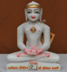 """Picture of 9NW51 Normal White Simandhar Swami 9"""" Murti 9N51"""